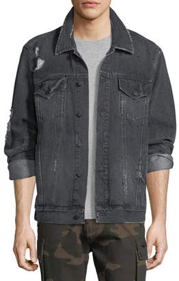 Ovadia & Sons Distressed Denim Jacket