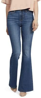 Ella Moss High-Rise Flared Jeans in Naomi