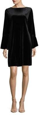 Isaac Mizrahi IMNYC Boatneck Bell-Sleeve Shift Dress