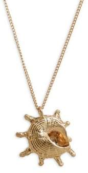 MANGO Collar Winkle Shell Pendant Necklace