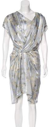 Thakoon Printed Midi Dress