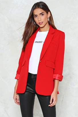 Nasty Gal Hey There Tailor Blazer