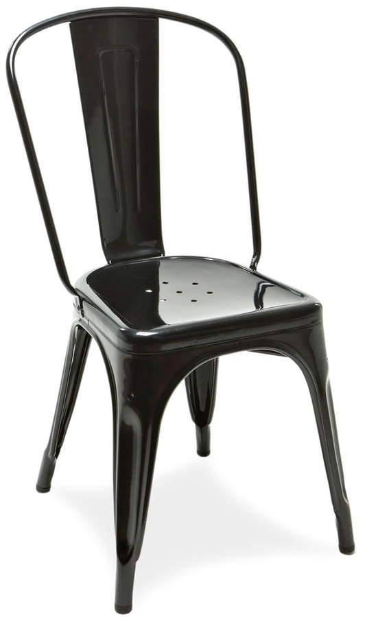 Tolix - A Chair Indoor, schwarz glänzend