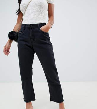 Missguided Petite Wrath Straight Leg Jeans