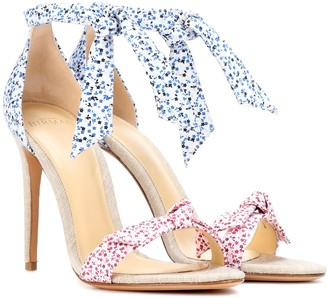 Alexandre Birman Lovely Clarita floral-printed sandals