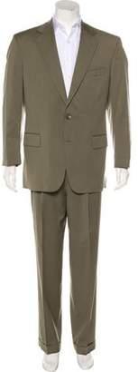 Barneys New York Barney's New York New Wool Cuffed Suit