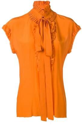 Haider Ackermann ruffle-trimmed blouse