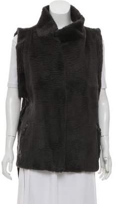 Preen Line Astrix Fur Vest