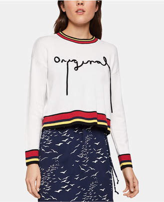 BCBGeneration Embroidered Sweater
