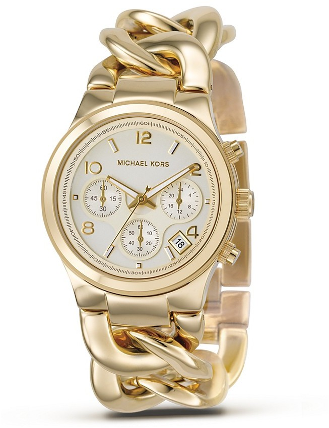 Michael Kors Stainless Steel Chronograph Watch, 38 mm