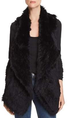 Bloomingdale's C by Rabbit Fur & Cashmere Vest - 100% Exclusive