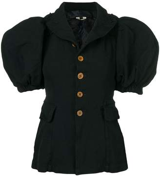Comme des Garcons Pre-Owned puff sleeve jacket