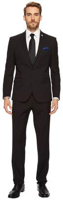 Nick Graham Black Dot Suit Men's Suits Sets