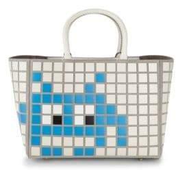 Anya Hindmarch Ebury Small Space Invader Handbag