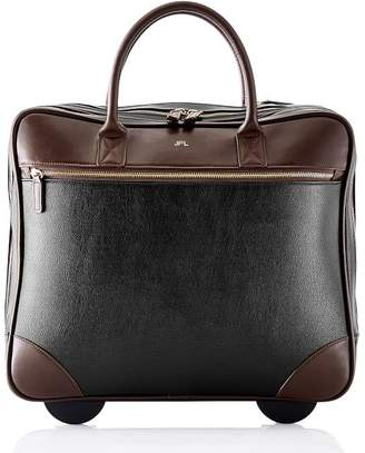 Mark And Graham Concourse Rolling Briefcase, Black
