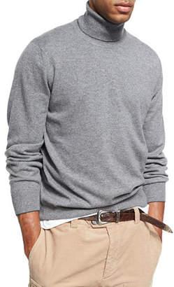 Brunello Cucinelli Cashmere Turtleneck Sweater $1,145 thestylecure.com