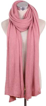 Express Kylin Lady's Stylish Pure Colour Scarves Luxurious Pashmina Scarf Knitted scarf