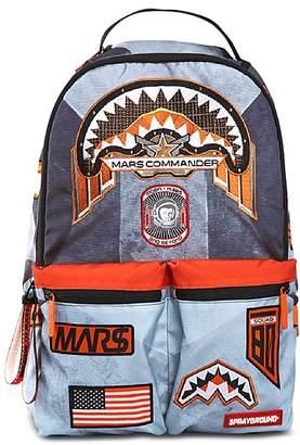 Sprayground Unisex Buzz Aldrin Mars Patches Backpack