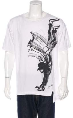 Y-3 Crew Neck Graphic T-Shirt