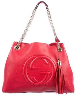 d6549fd33fe Gucci Soho Medium Shoulder Bag - ShopStyle