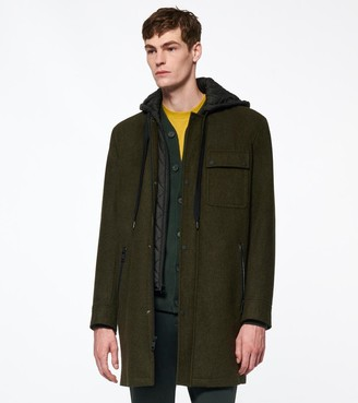 Andrew Marc Final Sale ROWLAND WOOL PARKA