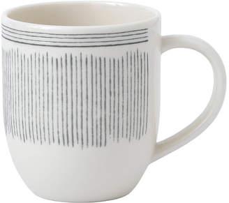 ED Ellen Degeneres Crafted by Royal Doulton Charcoal Grey Lines Mug