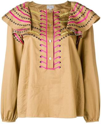 Temperley London Expedition blouse