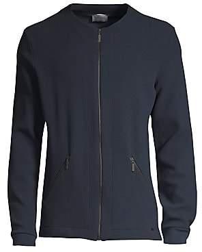 Hanro Men's Bruno Woven Zip Jacket