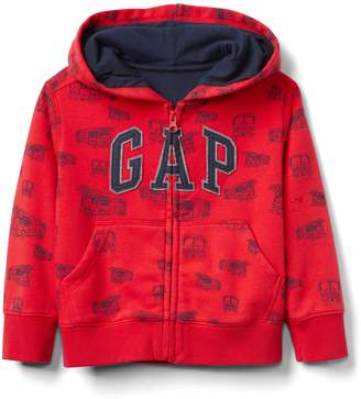 Gap Logo Hoodie Sweatshirt in Fleece