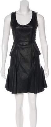 Givenchy Leather Mini Dress