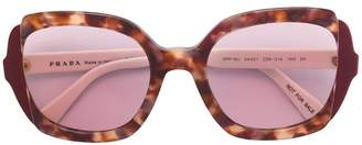 Prada oversized square-frame sunglassesc