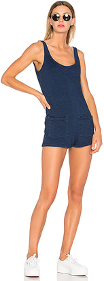 Obey Kim Romper in Blue $70 thestylecure.com