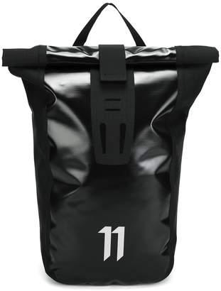 11 By Boris Bidjan Saberi logo backpack