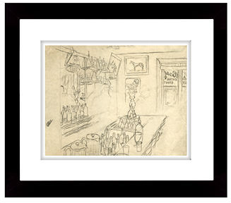 Lauren Ralph Lauren Wall Art, Jack McCann's Bar Framed Art Print