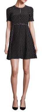 The Kooples Polka Dot Silk Dress $395 thestylecure.com