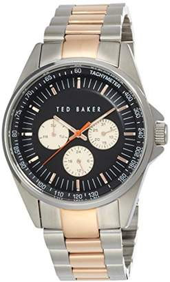 Ted Baker Men's TE3052 Round Two-Tone Stainless Steel Watch