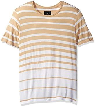 GUESS Men's Max Variegated Stripe T-Shirt