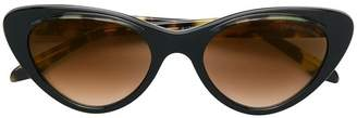Cutler & Gross oversized cat eye sunglasses
