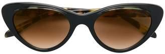 Cutler & Gross oversized cat eye sunglasses