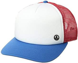 Neff Men's Tilted Mesh Hat-Flat Billed Trucker Cap