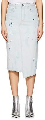 Rag & Bone Women's Paint Splatter Denim Pencil Skirt
