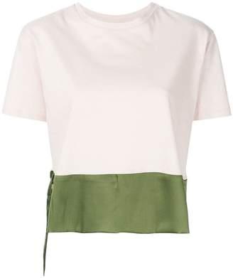 Sàpopa two-tone T-shirt