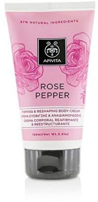 Apivita Rose Pepper Firming & Reshaping Body Cream - 150ml/5.31oz