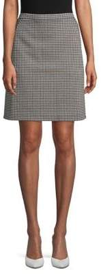Anne Klein Classic Patterned Skirt
