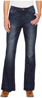 Wrangler Western High-Waist Jeans Flare Women's Jeans