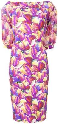 Chiara Boni Le Petite Robe Di tulip print dress