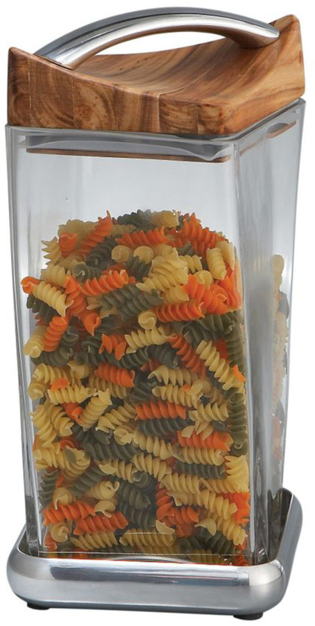 """Nambe 9.5"""" Twist Canister"""