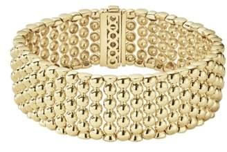 Lagos Caviar Gold Bold Wide Rope Bracelet