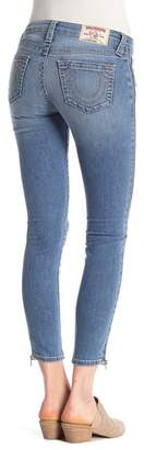 True Religion Ankle Zipper Skinny Jeans