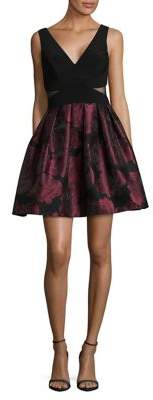 Xscape Evenings Sleeveless Fit-&-Flare Dress